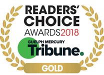 Guelph Mercury Tribune - Readers' Choice Awards 2018 – Gold