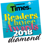 Cambridge Times - Readers' Choice Awards 2018 – Diamond